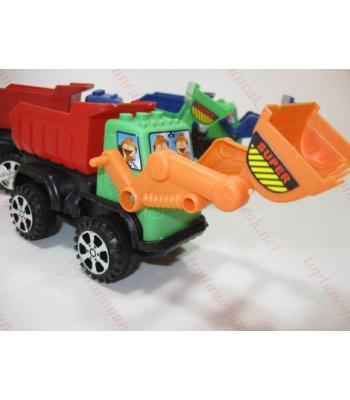 Promosyon oyuncak  iş makinası kepçeli kamyon