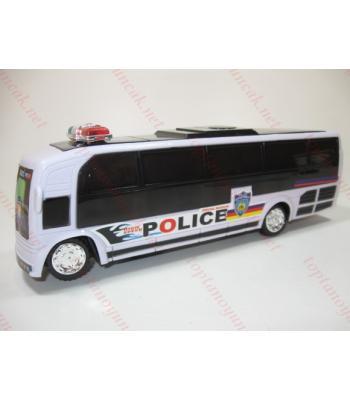 Toptan oyuncak polis otobüsü ışıklı müzikli