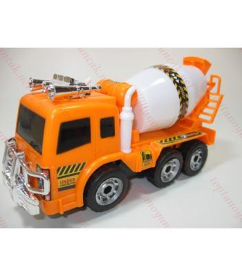 Toptan oyuncak iş makinası beton kamyonu