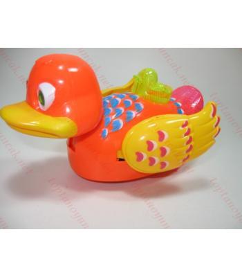 Toptan oyuncak ışıklı kanat çırpan sesli ördek