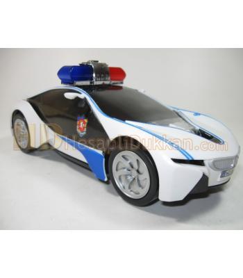 Işıklı müzikli polis arabası son model toptan oyuncak