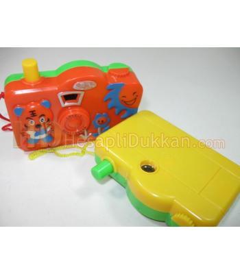 Promosyon oyuncak fotoğraf makinası slayt