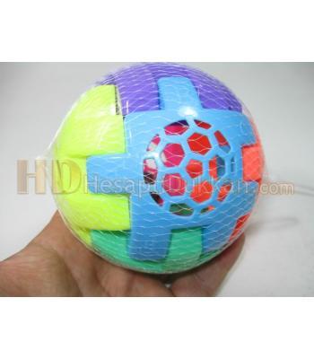Zilli çıngıraklı bul tak harfli eğitici top oyuncak toptan