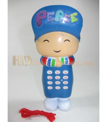 Toptan oyuncak telefon çocuklar için mavi