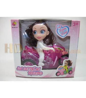 Motosikletli kız toptan pilli oyuncaklar