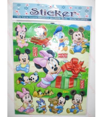 Toptan A4 sticker TOY1025