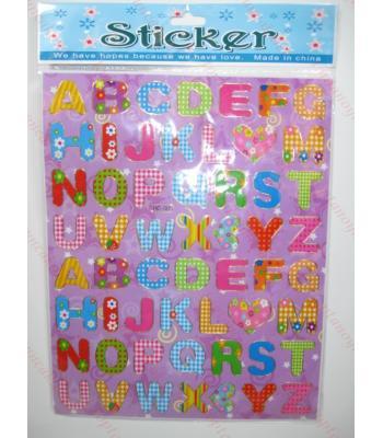 Toptan A4 sticker TOY1018