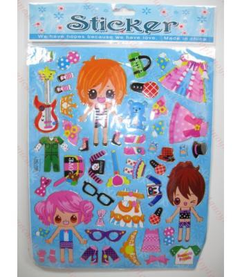 Toptan A4 sticker TOY1014