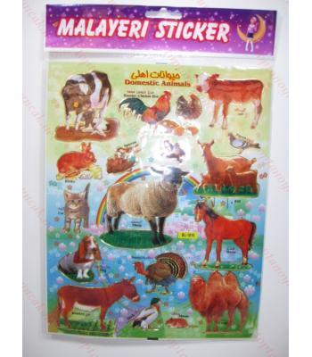 Toptan A4 sticker TOY1011