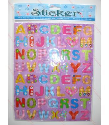 Toptan A4 sticker TOY1001