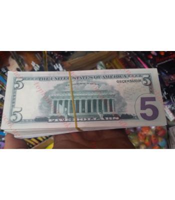 Toptan sahte dolar düğün parası