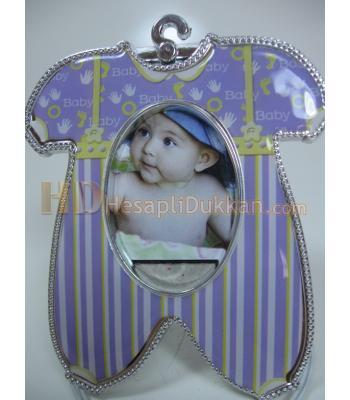 Bebek tulumu şeklinde magnet çerçeve buzdolabı süsü
