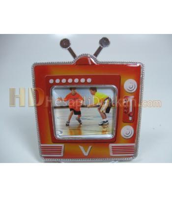Televizyon şeklinde magnet çerçeve bebek buzdolabı süsü