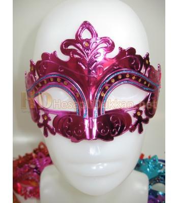 İşlemeli simli parti maskesi