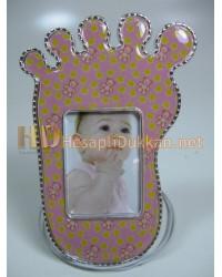Bebek ayağı magnet buzdolabı süsü