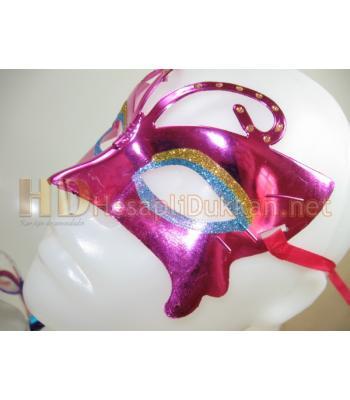 Dalları taşlı parti maskesi