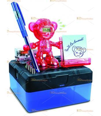 Promosyon oyuncak alarm saatli robot kendin yap