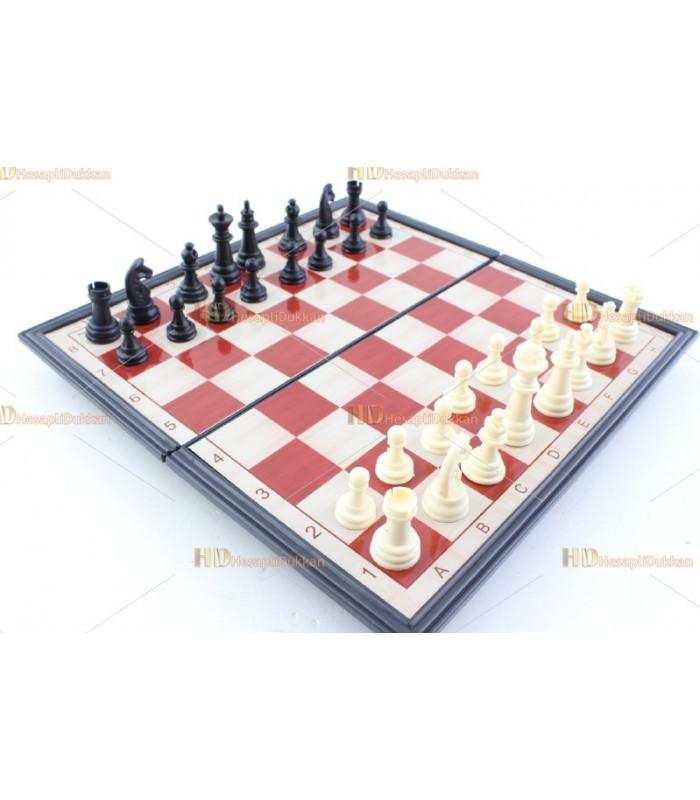 Promosyon satranç takımı seti baskı logo manyetik
