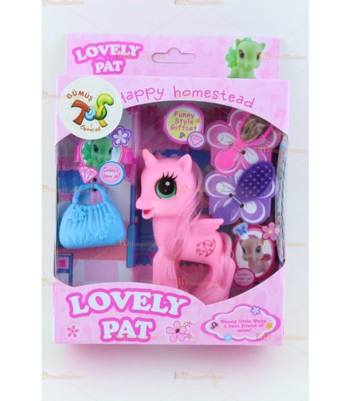 Promosyon oyuncak pony at aksesuarlı