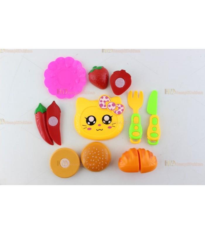Promosyon oyuncak meyve kesme cırt