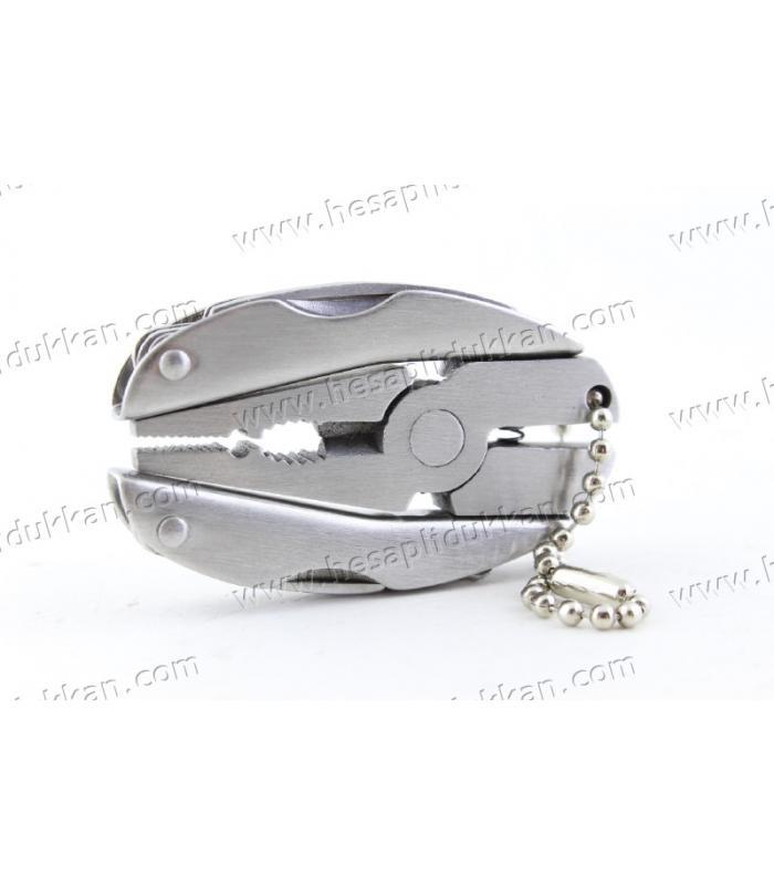 Promosyon ürünü çok amaçlı mini anahtarlık pense çantalı