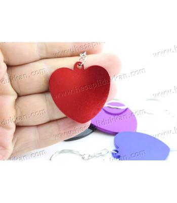 Promosyon anahtarlık metal kalp