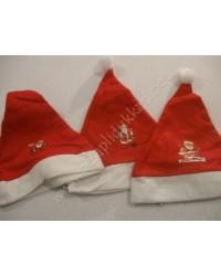 Noel baba figürlü noel baba şapkaları P978