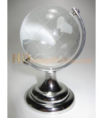 Büyük boy cam dünya küre promosyon R749