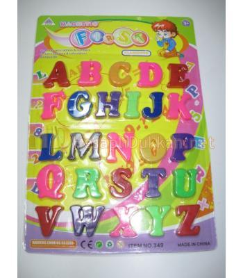 Magnet alfabe harfler ister isim yaz ister not bırak R755