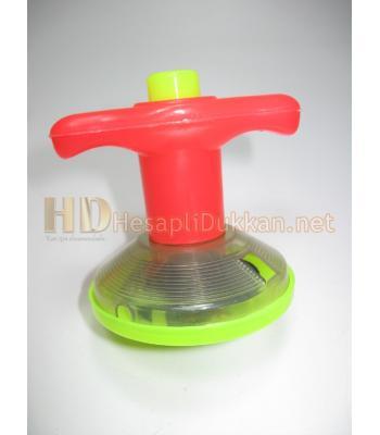 ışıklı kurmalı topaç promosyon oyuncak R756