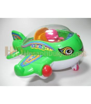 İpli ışıklı uçak promosyon oyuncak R760