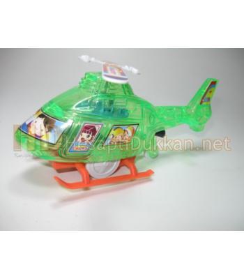 İpli ışıklı helikopter ipini çek fırlasın R768