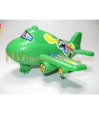 İpli zilli yolcu uçağı promosyon oyuncak R769