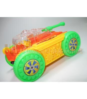 İpli ışıklı robot tank promosyon oyuncak R777