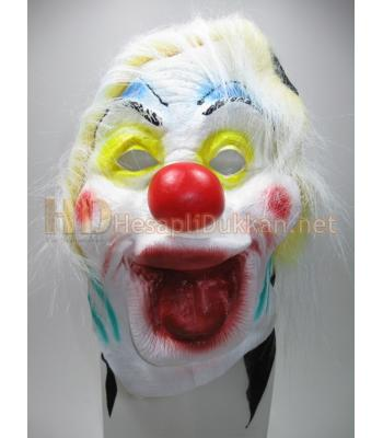 Dil çıkaran palyaço korku maskesi R779