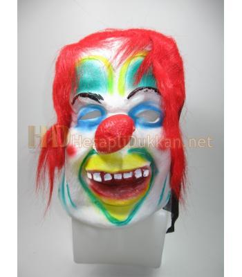 Sırıtan palyaço korku maskesi R784