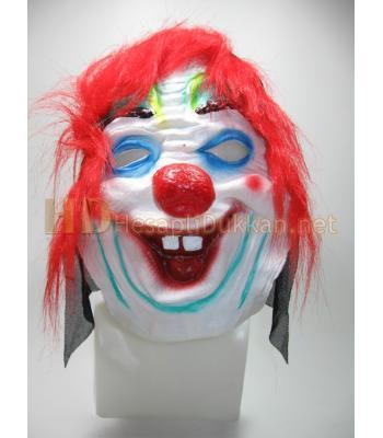 Dişlek palyaço korku maskesi R786