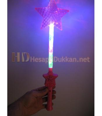 Müzikli ışıklı yıldızlı çubuk R798