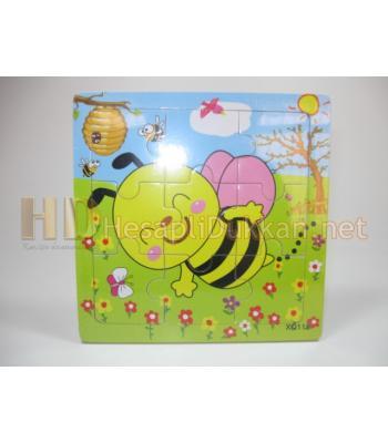 Vız vız arı puzzle eğitici oyuncak R817