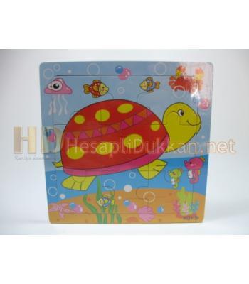 Kaplumbağalı yapboz zeka oyuncağı R809