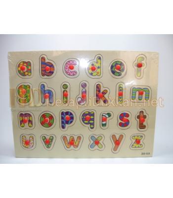 Küçük harfli harf öğreten puzzle R836