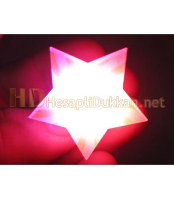 Yıldız ışıklı rozet