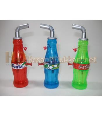 Kola şişesi şeklinde su tabancası