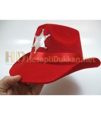Çocuklar için kovboy şapkası R445
