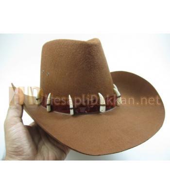 Diş süslemeli safari parti şapkası R442