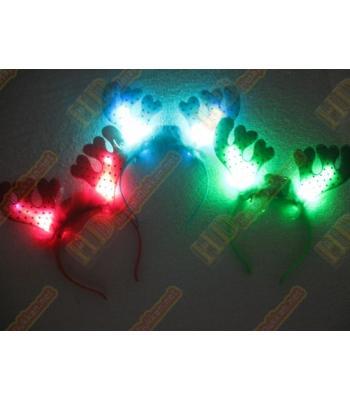 Geyik boynuzu ışıklı taçlar yılbaşı ürünleri R202