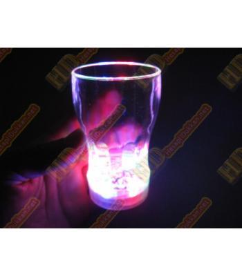 Işıklı bardak yeni mini model led ışıklı R223