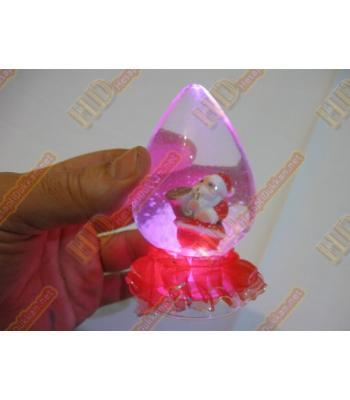 Işıklı sulu kar küresi fanus yılbaşı hediyelik eşya R283