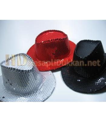 Parlak pullu parti şapkası R298