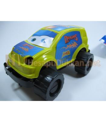 Plastik jeep ucuz oyuncak R329